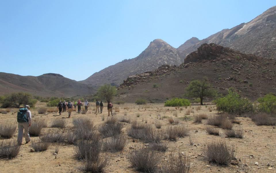 Namibia fieldwork