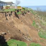 Landslide at Knipe Point