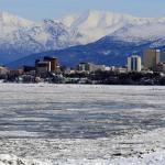 The town of Anchorage. Source; stock photo.