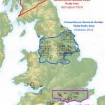 DECC Shale gas study areas in the UK