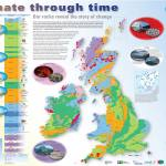 Climate through time poster map. Printed copies are available from our Online Shop.