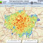 London Earth map viewer