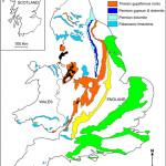 Map of soluble rocks in the UK