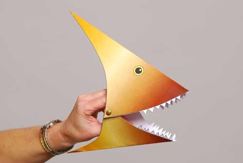 Completed pterosaur model.