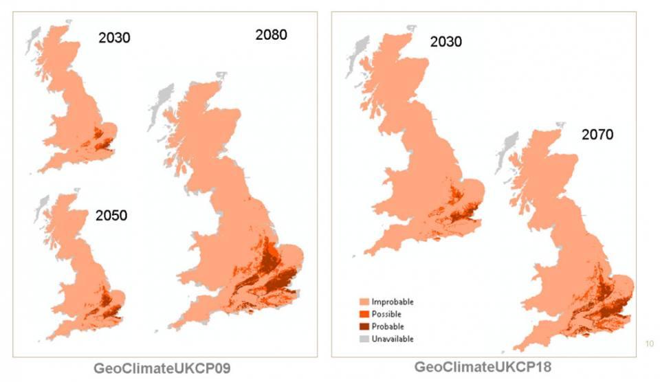 GeoClimate comparison