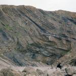 Fractured folds in Bude Formation, Cornwall