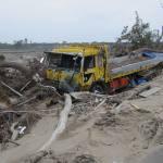 Tsunami 2011 damage Sendai Plain