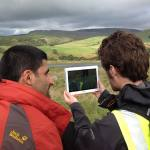 iGeology is widely used in fieldwork as a teaching tool for geology and geography students. iGeology includes bedrock and superficial geology, borehole locations and geological features including faults, folds and mineral veins. BGS © UKRI.