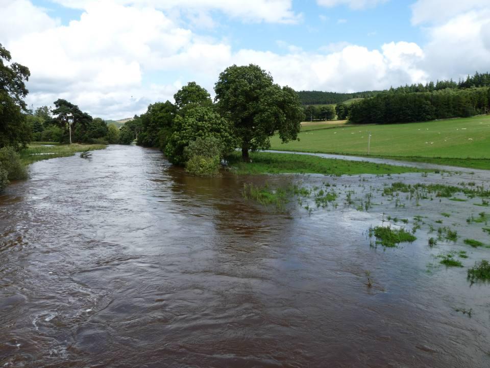 Eddleston flooding