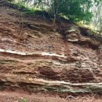 Mercia Mudstone outcrop