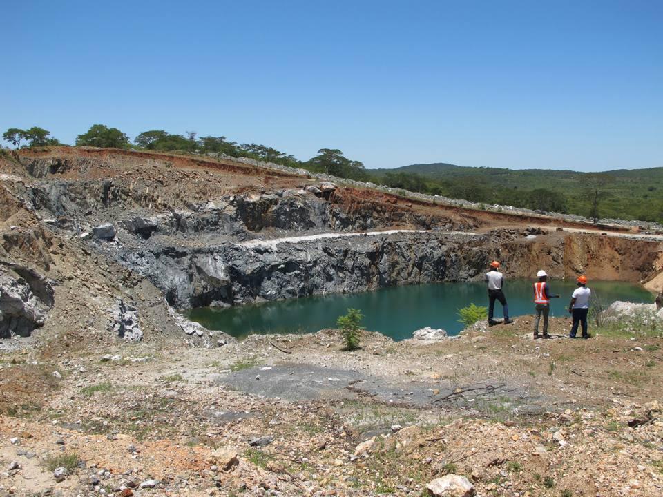 Bikita lithium mine in Zimbabwe