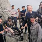 Rockall Expedition members. Dick is located on the far right. Source: Dick Merriman