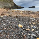 A pebbly beach, perfect for pebble spotting. Source: BGS © UKRI.