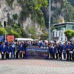 Participants of the CCOP-JMG-BGS Urban Geology Workshop at Batu Caves, Kuala Lumpur in February 2019. BGS © UKRI.